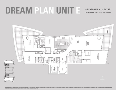 JADE Beach E Line Floor Plan