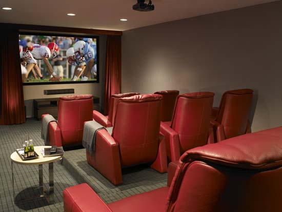 Jade Ocean Theater Room