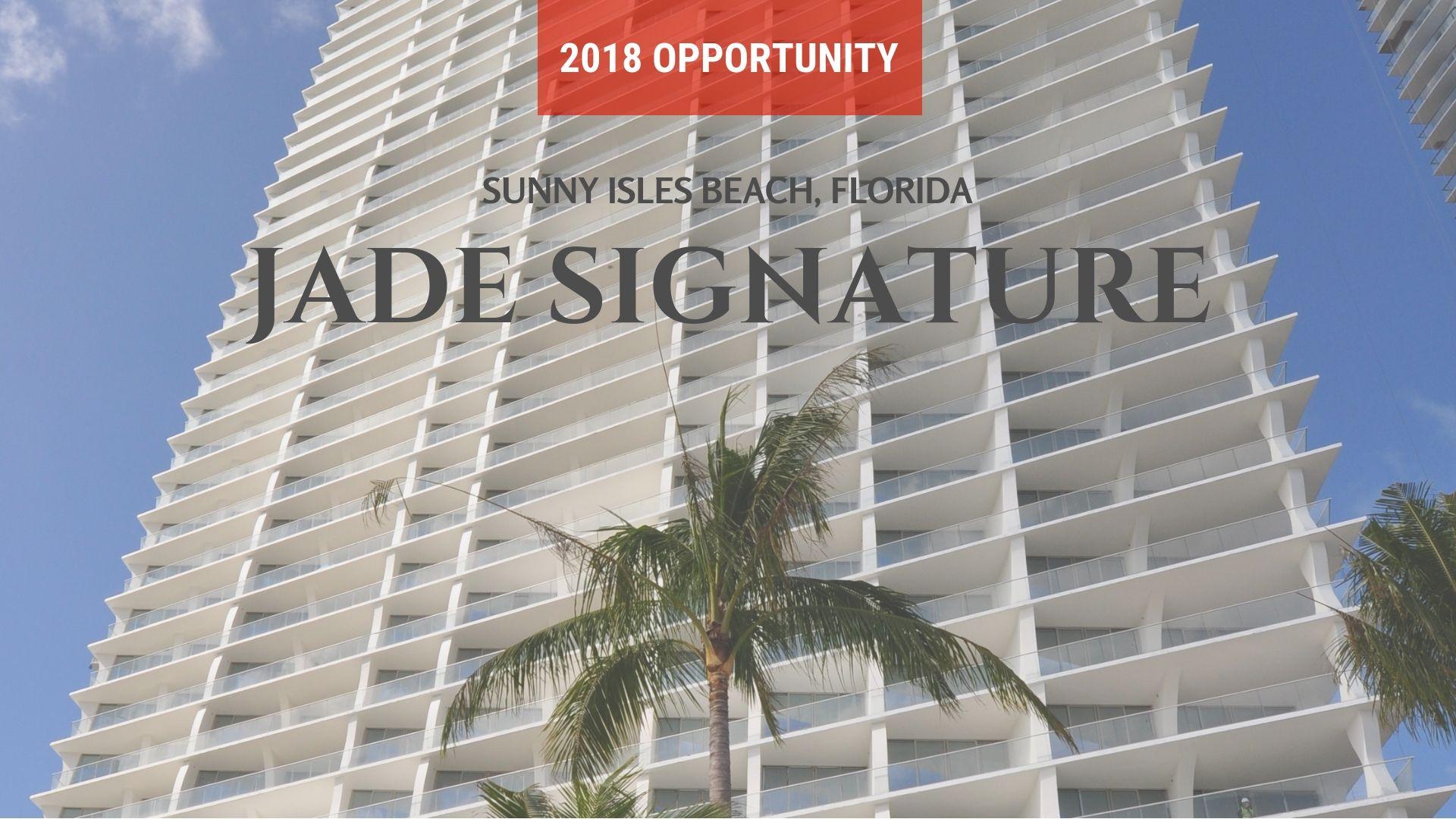 Jade Signature Sunny Isles Beach