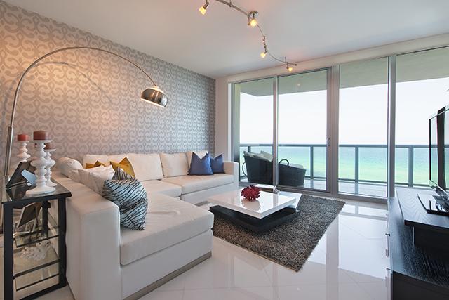 Jade Beach 802 Living Room